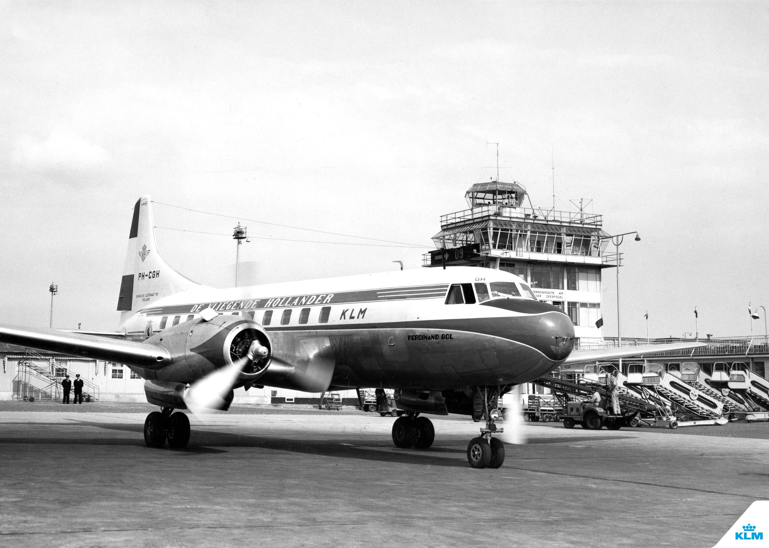 1954_Convair_240_Schiphol